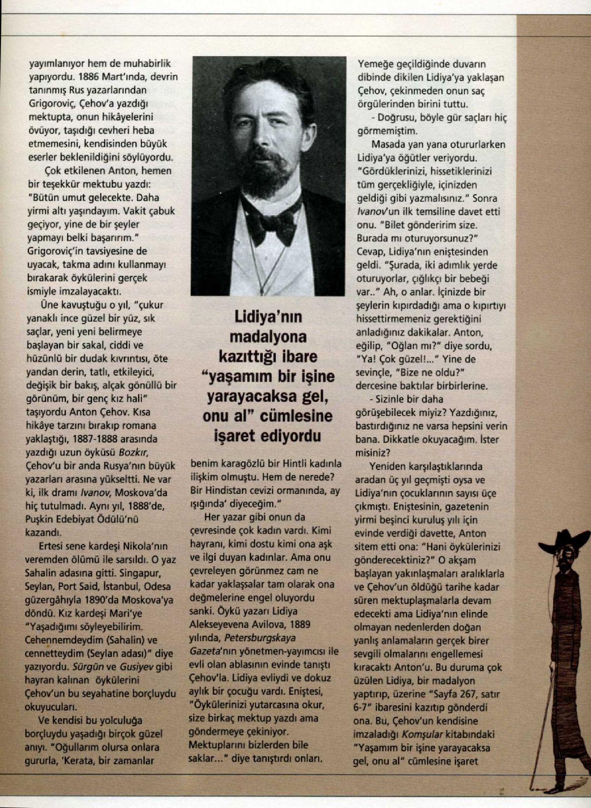 Çehov: yazarın kısa bir biyografisi